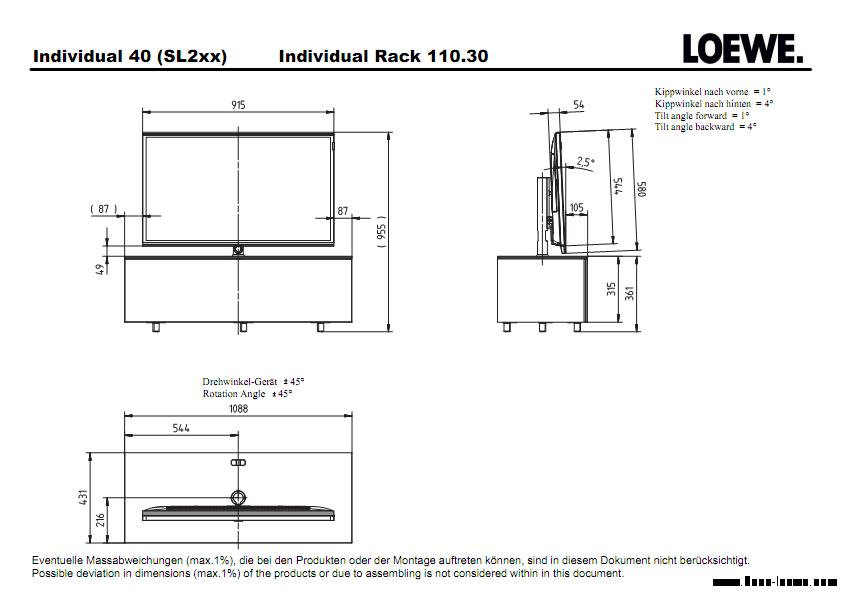 loewe individual slim frame 8 800 700 74 21. Black Bedroom Furniture Sets. Home Design Ideas
